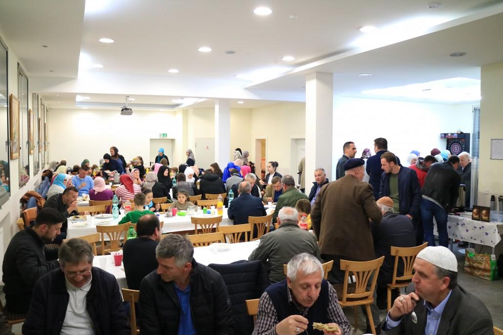 Restaurant Dzemat Darmstadt mevlud 2017